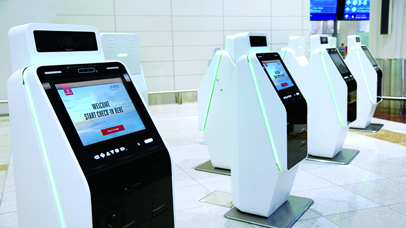 Emirates offers touchless self check-in at Dubai airport