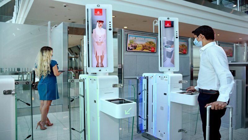Emirates launches integrated biometric path at the Dubai  airport